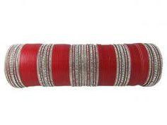 Indian Fashion Red Chuda Bracelet Wedding Bangles