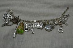 Zombie Apocalypse - inspired charm bracelet x8 or x14 charms
