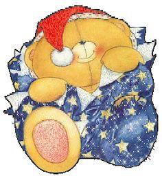 Xmas-sweet-bear.gif - анимация на телефон №1304613