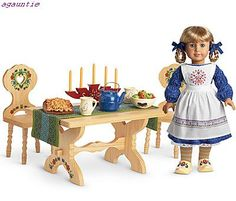 KIRSTEN --->A NOW RETIRED AMERICAN DOLL (SWEDISH HERITAGE)