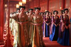 Curse of the Golden Flower-color, coordination, honor, and order....priceless