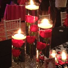 centrepieces - so simple yet effective