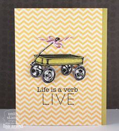 Life is a verb - Unity Stamp Co