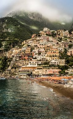 Must visit Positano, a village and comune on the Amalfi Coast (Costiera Amalfitana), in Campania, Italy