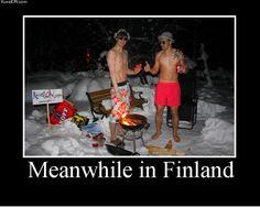 Picnic in Finland.