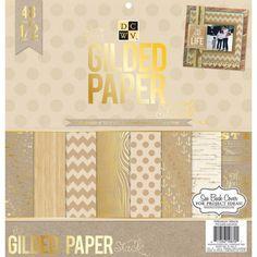 Gilded Paper Pad (30,5 x 30,5 cm) - Baste-Welt Schobes