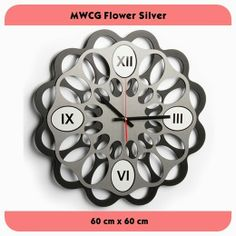 MWCG Flower Silver - GALLERY JAM DINDING UNIK