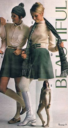 Penneys catalog 1969. Colleen Corby and Cay Sanderson.