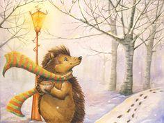 A morning Winter walk by WinterImp.deviantart.com on @deviantART