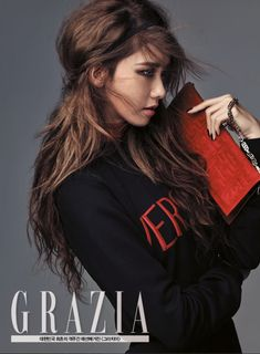 Girls' Generation's Yoona is Featured on The Cover of Grazia Magazine | Koogle TV