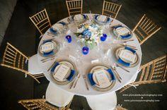 Arial View of Grand Event Rentals table design/rentals http://www.grandeventrentalswa.com/