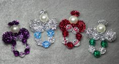 Happybird's Crafting Haven: Make Adorable Sparkly Beaded Angel Ornaments! Great Project For The Kids!