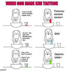 When God made Taeyeon..