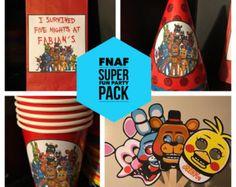 FNAF Five Nights at Freddy's Birthday by allaboutglitzandglam