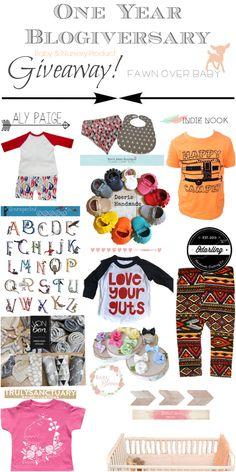 Budu baby blog giveaways