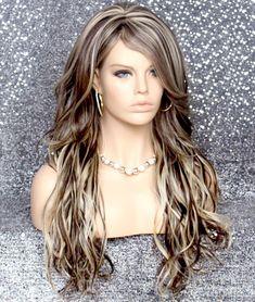 Parted Bangs, Wispy Bangs, Long Bangs, Brown To Blonde, Light Blonde, Brown Hair, Bad Hair, Hair Day, Hair Highlights And Lowlights