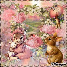 My Easter Art     Sweet Easter Bunnys