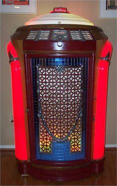 "1946 Seeburg ""Trashcan"" Jukebox. #vintageaudio http://www.pinterest.com/TheHitman14/ghosts-of-audios-past/"