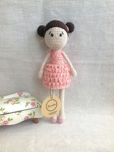EMILY Crochet Doll Amigurumi Doll Handmade Doll от Manuska