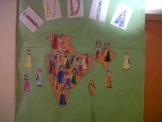 La classe dels elefants viatgen a l'India.