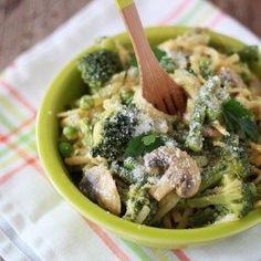 One-Pot Pasta Primavera from Oh My Veggies!