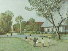 """Dutch Schoolplaat, """"Minahasa in Celebes 1924"""