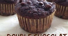 AMP Le Cacao, Muffins, Breakfast, Desserts, Food, Photos, Plain Greek Yogurt, Whole Wheat Flour, Unsweetened Cocoa