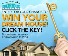 » Enter now for a shot at the house of your dreams! No purchase necessary to enter or win! Bargain Hound Daily Deals