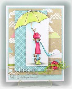 Under the Umbrella (by Broni Holcombe) #ADayForDaisies, #ADFD
