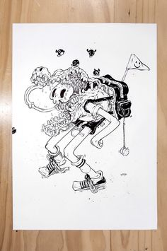 Quirky Drawing and Illustrations by T Wei