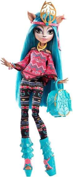 Amazon.com: Monster High Brand-Boo Students Isi Dawndancer Doll: Toys & Games