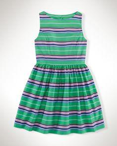 Striped Cotton Shirtdress - Girls 7-16 Dresses & Skirts - RalphLauren.com