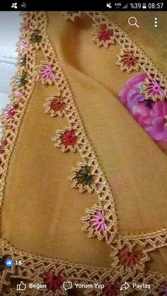 Crochet Decoration, Needle Lace, Fringes, Farmhouse Rugs, Lace, Weaving Techniques, Tejidos, Garlands, Dressmaking