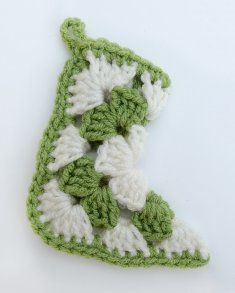 Granny Square Mini Christmas Stocking Free Pattern (Not for download - Pattern listed below)
