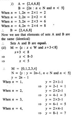 Selina Concise Mathematics Class 8 ICSE Solutions Chapter 6 Sets - CBSE Tuts Empty Set, Composite Numbers, Discrete Mathematics, Natural Number, Isosceles Triangle, Maths Exam, Prime Numbers, Class 8, Equality