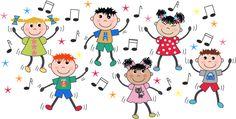 Grupo de niños bailando                                                                                                                                                                                 Más