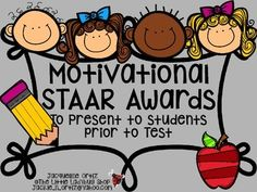 STAAR Reading, Writing, Math, Science and BLANK Motivational Certificate. Included Colored Background and BW background.Encourage your students to feel confident with these GREAT AWARDS!!! They will feel motivated to SHOW OFF their skills!!!______________________________________________________ Thank you for visiting my store and product!