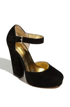 ShopStyle: Nine West 'Aroundtown' Mary Jane Pump Cute Shoes, Me Too Shoes, Mary Jane Pumps, Fall Shoes, Platform Pumps, Black Platform, Crazy Shoes, Chunky Heels, Nine West