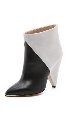 IRO Sherie Cone Heel Booties. #fashion #women #shoes #booties