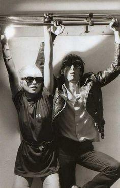 / Debbie Harry & Iggy Pop