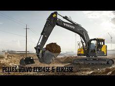 Volvo E-series crawler excavators: small but mighty - YouTube