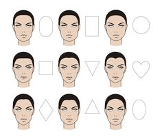 face shapes - Google Search