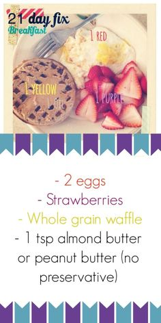 Sunshine and smoothies fitness 21 day fix week 1 menu weight loss pinterest menus - Regime 1800 calories ...
