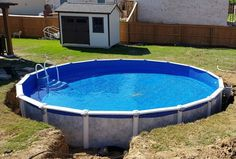 Intex Above Ground Pools, Small Above Ground Pool, Above Ground Pool Landscaping, Above Ground Swimming Pools, In Ground Pools, In Ground Pool Kits, Cheap Inground Pool, Semi Inground Pools, Cheap Pool
