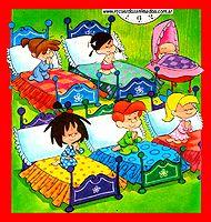 Siempre me iba a la cama con ellos;papá, mamá, yo quiero que me mandéis a dormir!!!