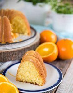 mjuka kaka med apelsinsmak Healthy Recepies, Fruit Bread, Nordic Ware, Baked Donuts, Little Cakes, Fika, Trifle, Coffee Cake, Bread Baking