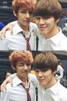 BTS V and Jimin