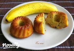 Banános muffin Évi nénitől | Nosalty Muffin, Evo, Bagel, Peach, Bread, Apple, Cookies, Fruit, Diet