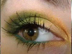 Google Image Result for http://clothingstylebeauty.com/wp-content/uploads/2010/08/Fresh-Summer-Eye-Makeup.jpg    This look is perfect for hazel or green eyes. With the copper, gold, and greens, it brings out the flecks of color and spices up your look.