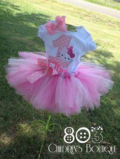 Hello Kitty birthday outfit,